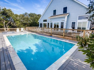 Photo for Avoca Blue | Sound Front | Dog Friendly, Private Pool, Hot Tub