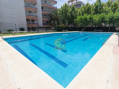 Photo for Loft apartment with communal pool near the tourist area of Salou.