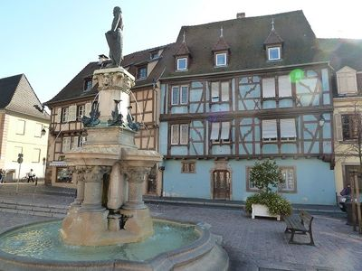 Photo for Gîte la fontaine- Charming apartment in the heart of the historic district of Colmar