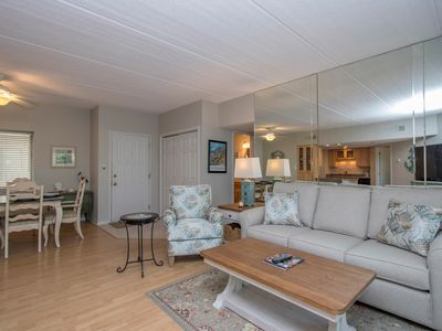Photo for Forest Beachvilla 203 - Nicely Renovated-Short walk to the Beach and Coligny