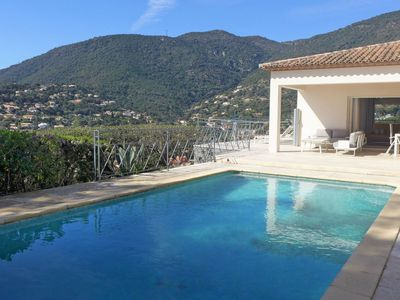Photo for Wonderful private villa for 8 guests with WIFI, private pool, A/C, TV and parking