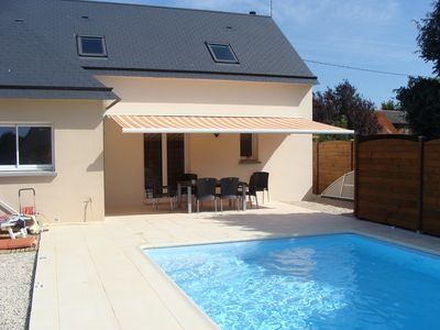 Photo for HOUSE BRICQUEVILLE ON SEA WITH PRIVATE SWIMMING POOL