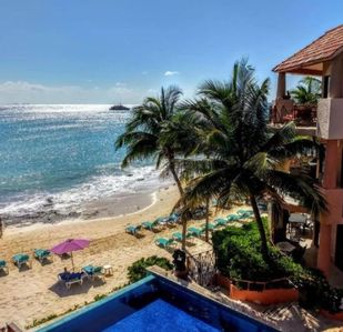 Photo for BEACH FRONT Amazing Condo with Pool and Beach - Luna Encantada G2