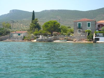 Photo for Exclusive Rustic Villa with Private Beach