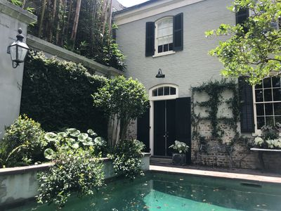 Photo for Exquisite Carriage House in 1859 Historic Lower Garden District Home