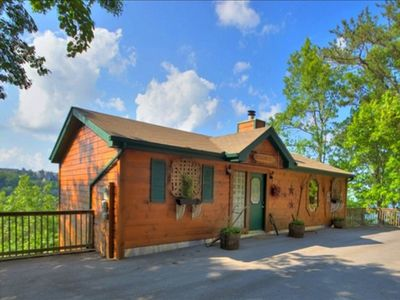 Photo for Spectacular view. Pet Friendly. Minutes from Gatlinburg. Free wifi