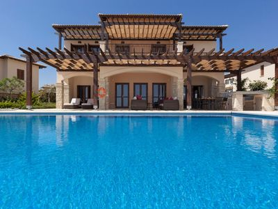 Photo for Spacious 5 Bedroom Superior Villa with Private pool and stunning panoramic view of the Mediterranean