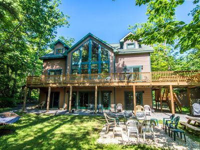 Spacious home with private dock close to Swallow Falls State Park