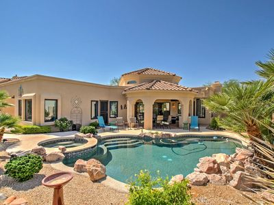 Photo for Elegant Mesa House on Golf Course w/ Private Pool!