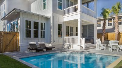 Photo for Seaside Adventure, Seagrove Beach, Brand New,  Heated Pool, Up to $250 Golf Cart Voucher Included!