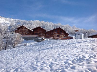 Photo for Wonderful apartment next to the slopes, ski in/ski out; sleeps 6-8 people