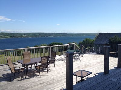 View from Main House deck.