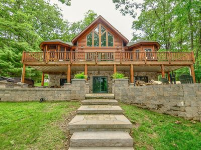 Lakefront Home w/Private Dock, Hot Tub, Fire Pit, & Pool Table!