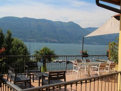 Photo for Apartment Atmosfere sul lago in Porto Valtravaglia - 6 persons, 2 bedrooms