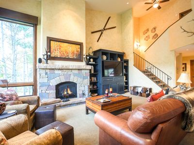 Photo for Mountain-View Alpine Retreat – Near Skiing, Access to Pool
