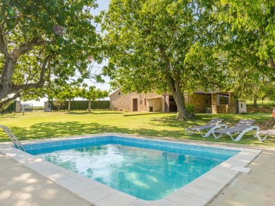 Photo for Singular house surrounded by countryside with pool and garden. Tranquility and fresh air