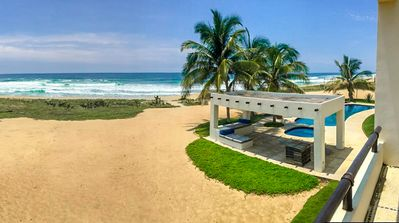 Photo for Beachfront Bliss | Luxury Oceanfront Estate | **Discounted 2 - 5 BDRM Rates**