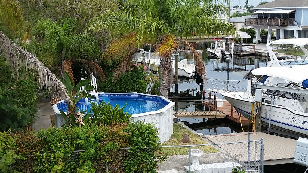 Waterfront Pool Home In Hudson Beach Hudson Florida North Central Gulf Coast Florida