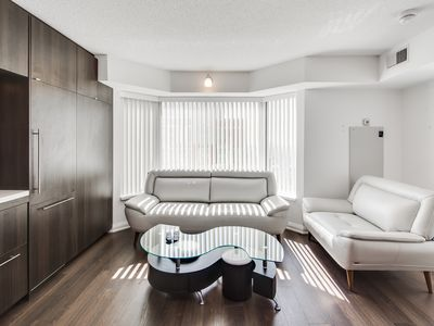 Photo for VERY LUXURIOUS 1BED + DEN SUITE IN YORKVILLE
