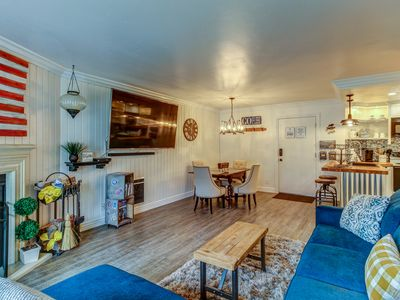 Photo for Charming relaxing retreat with a shared sauna, community hot tub, and more!