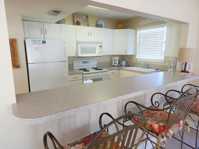 Photo for 3 bedroom Town home condo #19 is a short stroll to our private beach!