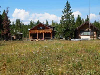 Photo for River Reunion is 3 cozy, WATERFRONT cabins just 25 miles from YNP