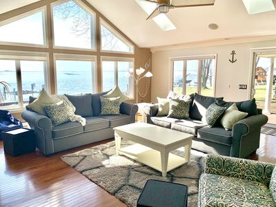 Photo for Beautiful Lakefront Home On Lake St Clair!