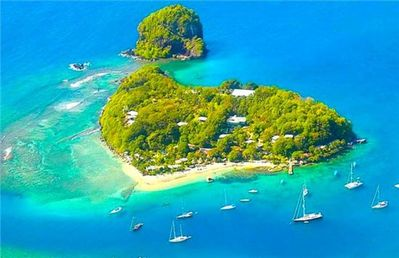 Photo for Young Island - Superior Cottages - St.Vincent