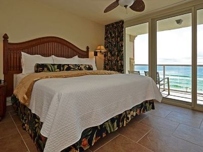 Photo for Free Beach Chairs + Umbrella, Marvelous Gulf Front Views, Heated Pools and Spa!