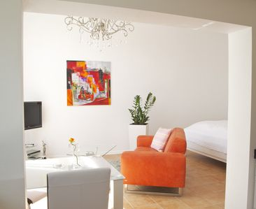 Photo for Lovingly furnished apartment with proximity to Basel and Alsace