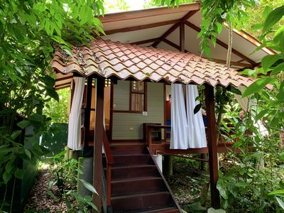 Photo for Superior bungalow with Spa Bath in spectacular jungle area close to the beach