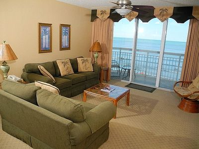 Photo for Crescent Shores Oceanfront Unit 506! Stunning Condo. Book your get away today!