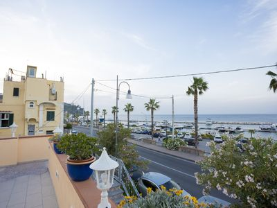 Photo for Casa MiCa - seafront apartment a stone's throw from the beach