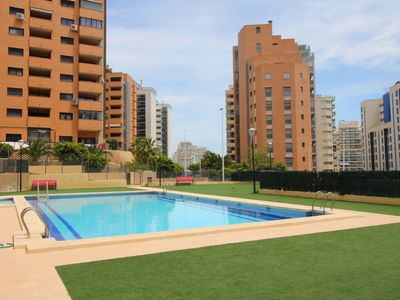 Photo for La Cala Apartment, Sleeps 4 with Pool, Air Con and Free WiFi