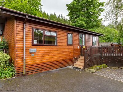 Photo for A great value dog friendly lodge with valley walks from your doorstep