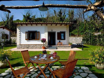 Photo for 2 bedroom Villa, sleeps 4 in Sant'Agata sui Due Golfi with Pool, Air Con and WiFi