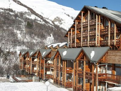 Photo for Large apartment with a view near the ski slope of Valloire