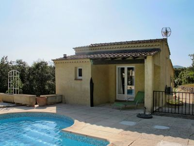 Photo for Lovely apartment for 14 guests with private pool, WIFI, A/C, TV, balcony, pets allowed and parking