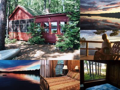 Photo for Charming Waterfront Cabin On Conway Lake!