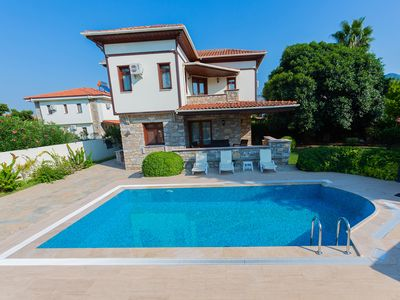 Photo for Private Villa Celik - 4 bedrooms with en suites and private pool