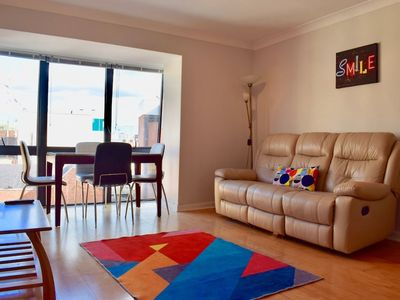Photo for 1 Bedroom Apartment With Views in City Centre
