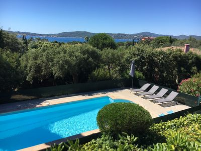 Photo for Large villa with pool and view to the sea in Sainte-Maxime - Beauvallon