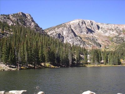 Silver Lake - ( one of 2 private lakes ) Fishing permit included with rental )