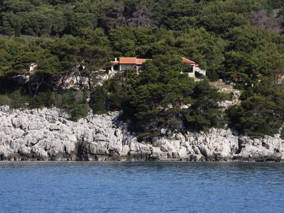 Photo for Apartment in Saplunara (Mljet), capacity 2+3