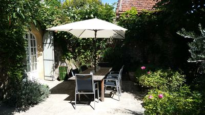 Large terrace with direct access from the kitchen, perfect for dining outside.