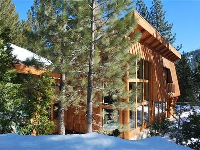 Photo for Luxury Cabin just a 3 minute drive to lifts!