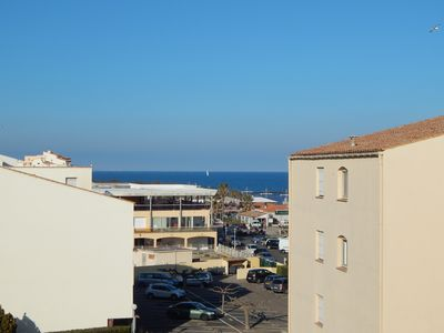 Photo for studio sea view Cap d'Agde / beach mole