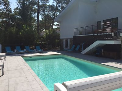 Photo for Villa with pool near the sea, ideal families