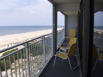 Photo for Beautiful Oceanfront Penthouse with Pool (Fenwick Towers #502) - Few weeks left!