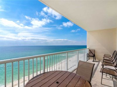 Photo for Majestic 1206 East - Tower II, Beach Chairs, 3 Bedrooms, Sleeps 8, Beachfront, Wi-Fi, Pool
